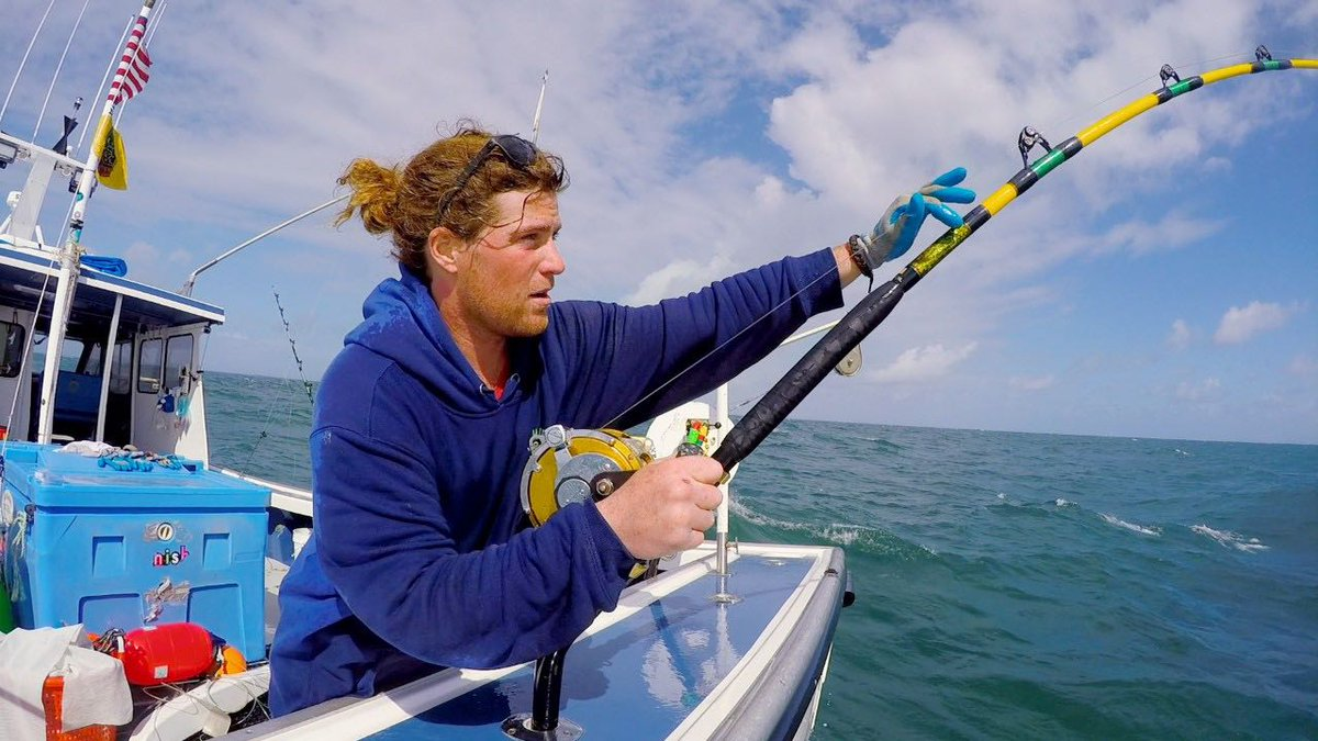 Duffy Fudge will be remembered by fans of Wicked Tuna forever. Pic credit: Nat Geo Channel
