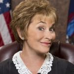Judge Judy showing off her iconic look