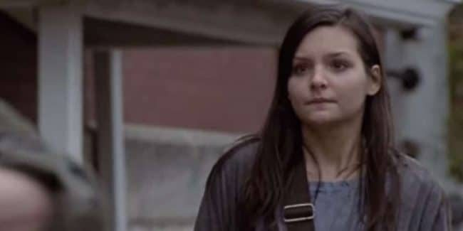 Cassady McClincy as Lydia on The Walking Dead