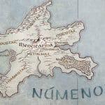 Map of Númenor