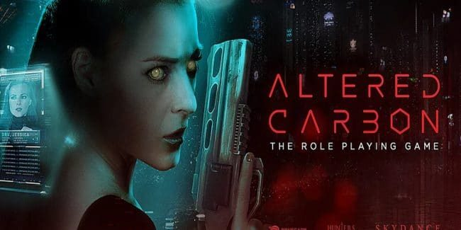 Netflix's Altered Carbon series to get role playing game tie-in for Season 2