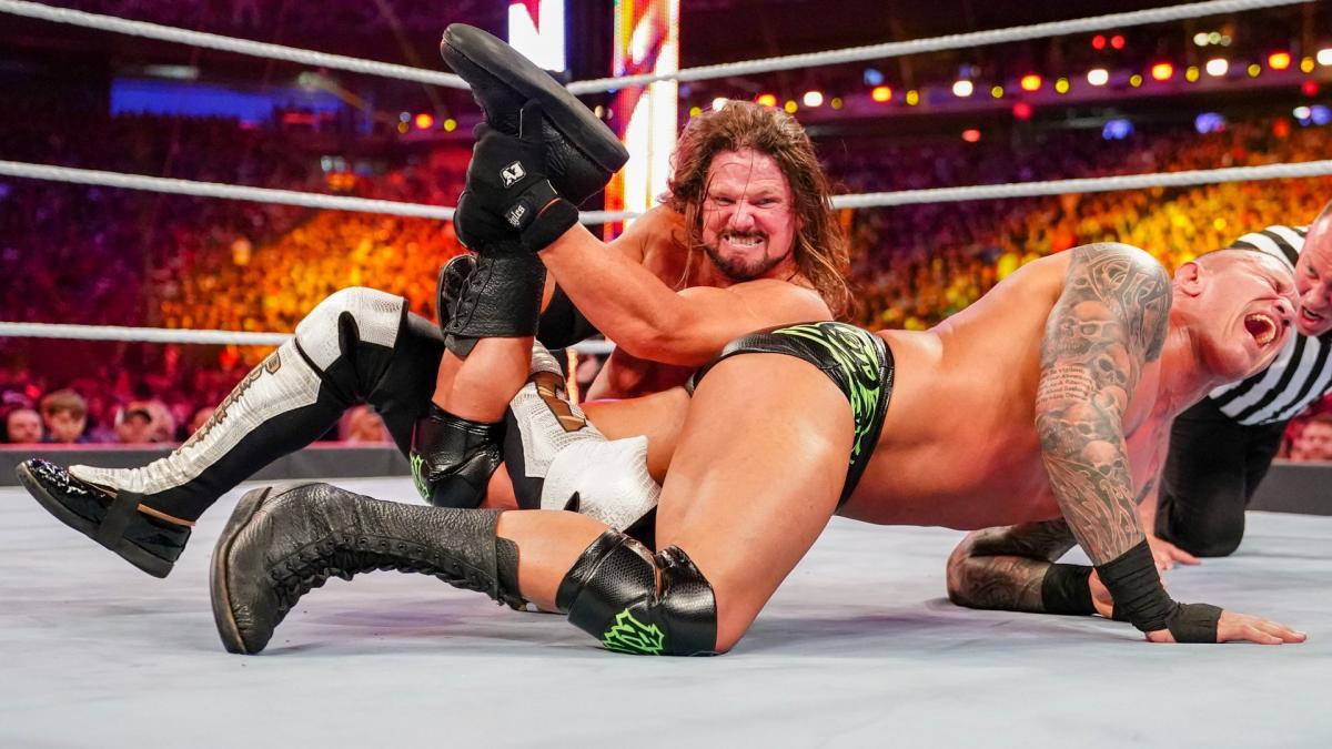AJ Styles injured at WrestleMania 35