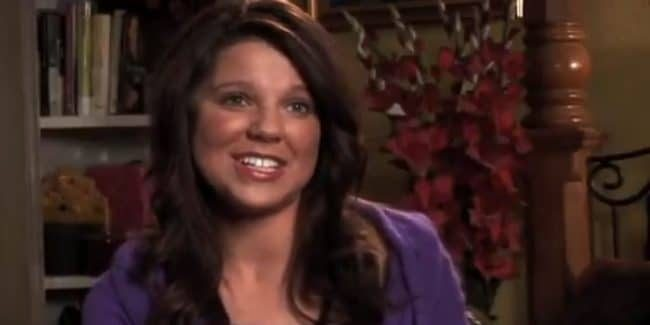 Amy Duggar King during a 19 Kids and Counting confessional