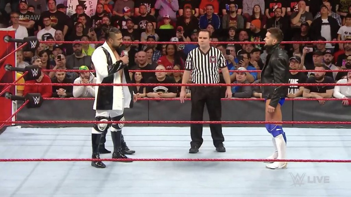 Andrade on Raw
