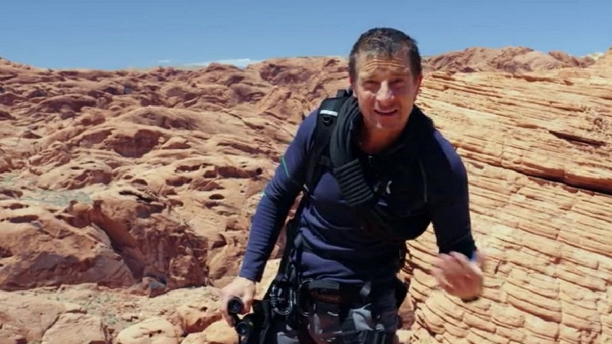 Bear Grylls in Hells Canyon: You vs. Wild