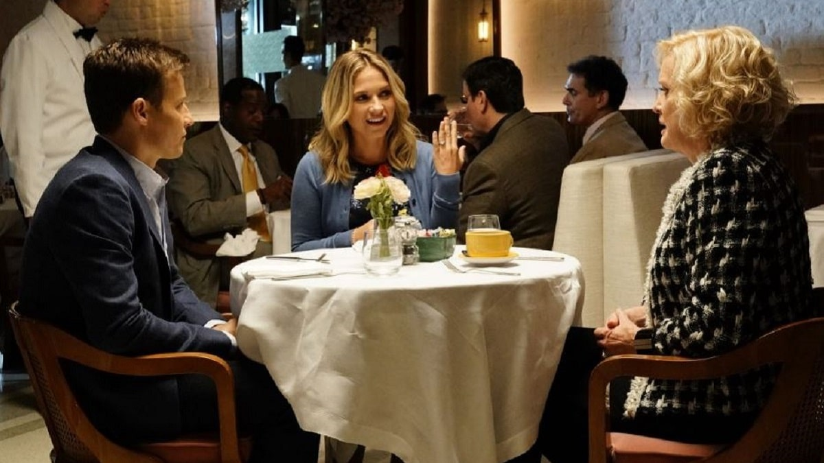 Christine Ebersole, Vanessa Ray and Will Estes in Blue Bloods