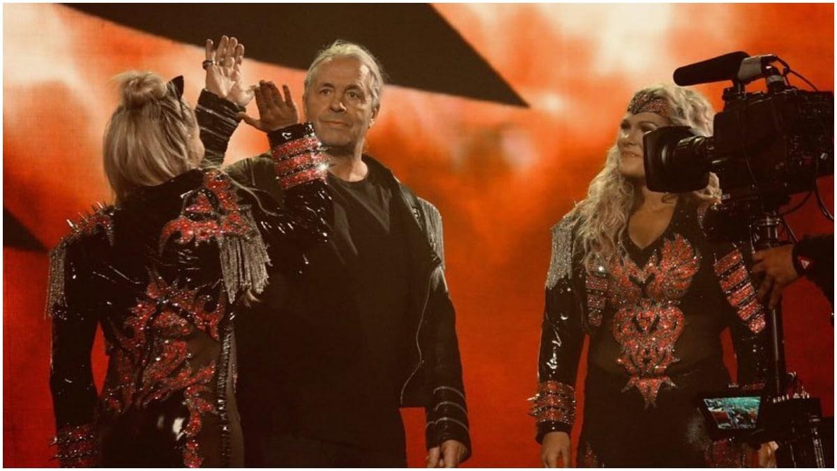 Bret Hart at WrestleMania 35