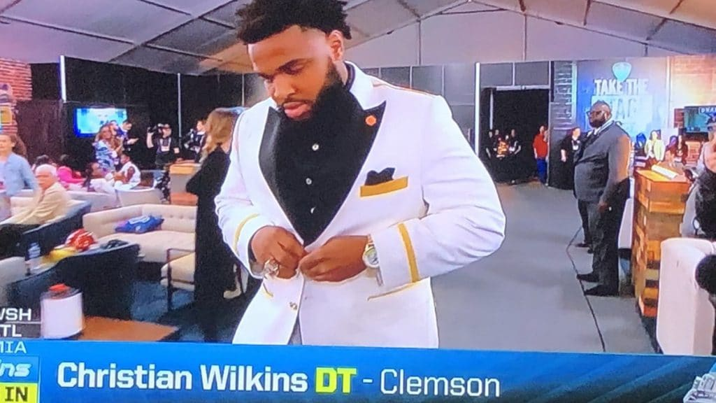 How did Christian Wilkins grandfather die?