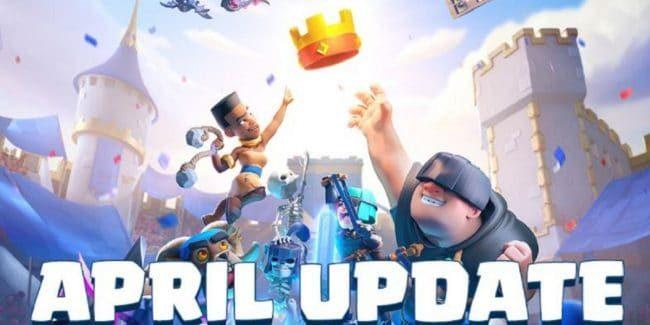 Clash Royal April Update