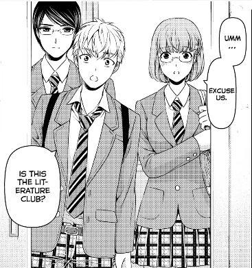 Domestic Girlfriend Manga New Characters Season 2