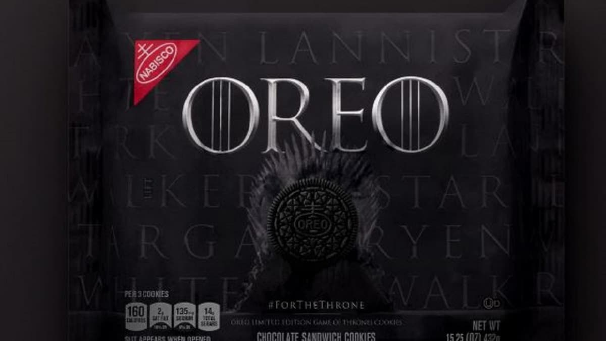 where to buy game of thrones oreos target and walmart details. Black Bedroom Furniture Sets. Home Design Ideas
