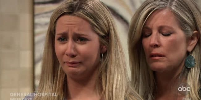 Joss and Carly on General Hospital