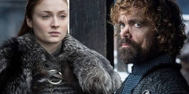 Sansa and Tyrion together for the first time in Season 8