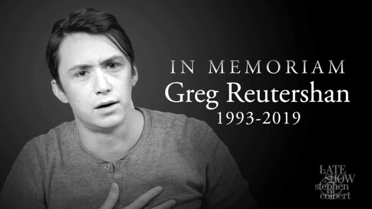 Greg Reuter's death