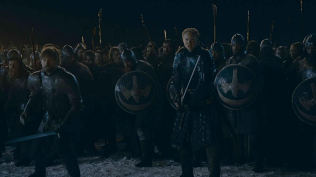 The army assembles in Episode 3 of 'Game of Thrones'