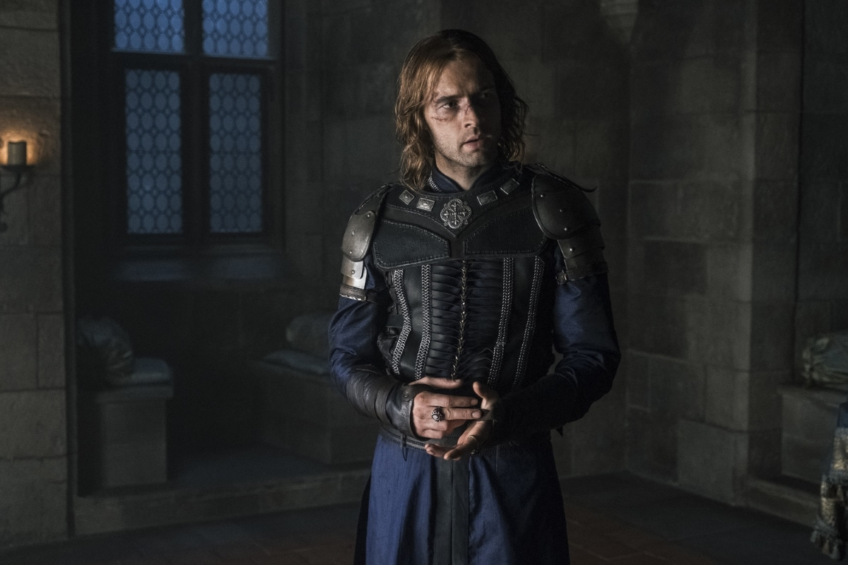 History Channel's 'Knightfall,' Season 2, Episode 6, Blood Drenched Stone, Tom Forbes stars as Prince Louis