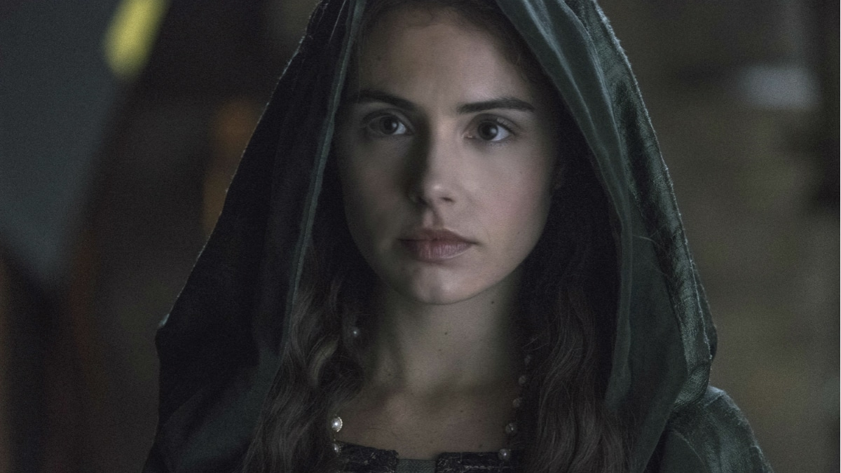 History Channel's 'Knightfall' Season 2, Episode 6, Blood Drenched Stone, Genevieve Gaunt stars as Princess Isabella
