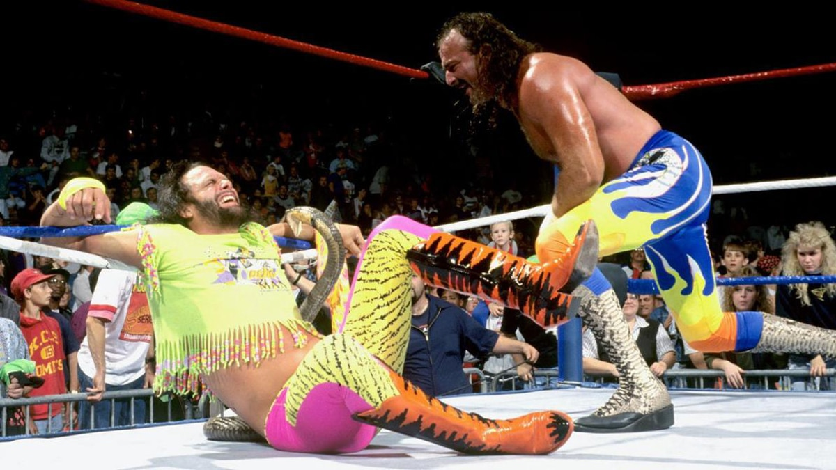 Jake the Snake Roberts rand Randy Savage