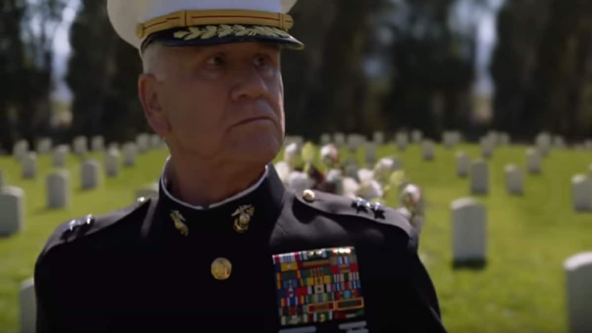 Garrett M. Brown as Marine General James Wallace on NCIS cast