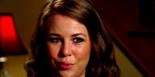 Jana Duggar during a confessional