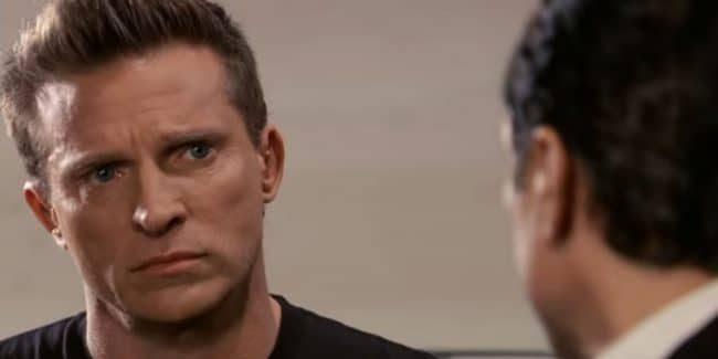 Steve Burton as Jason Morgan on General Hospital.