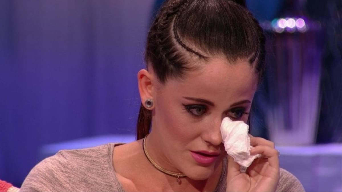 Jenelle Evans at a Teen Mom 2 reunion