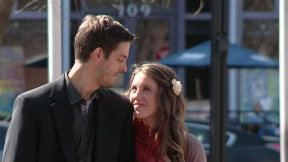 Jill Duggar and Derick Dillard when they appeared on 19 Kids and Counting