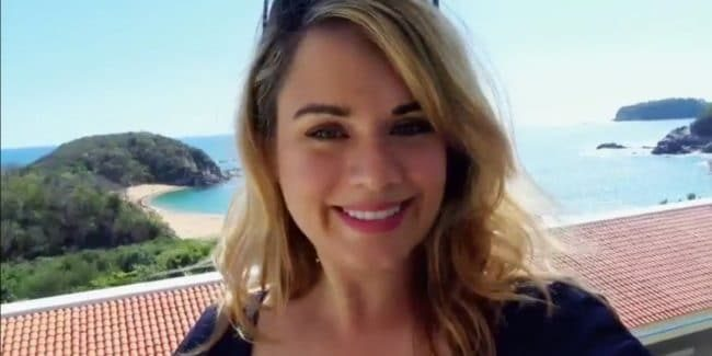 Kate Sisk in Mexico during her Married at First Sight update