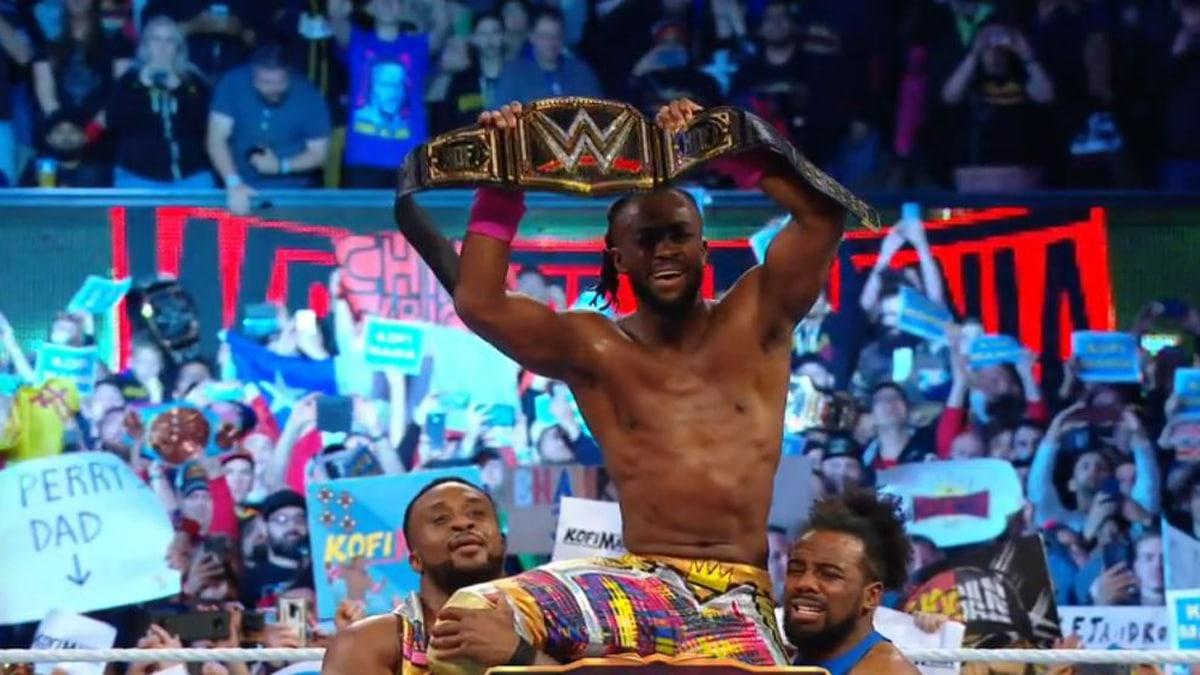Kofi Kingston becomes first black WWE champion