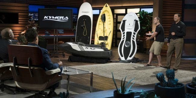 Jason Woods and Adam Majewski return to Shark Tank representing Kymera