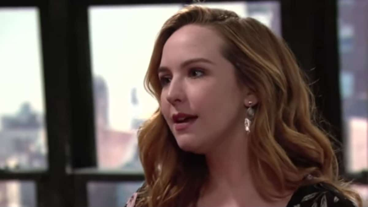Camryn Grimes as Mariah on The Young and the Restless