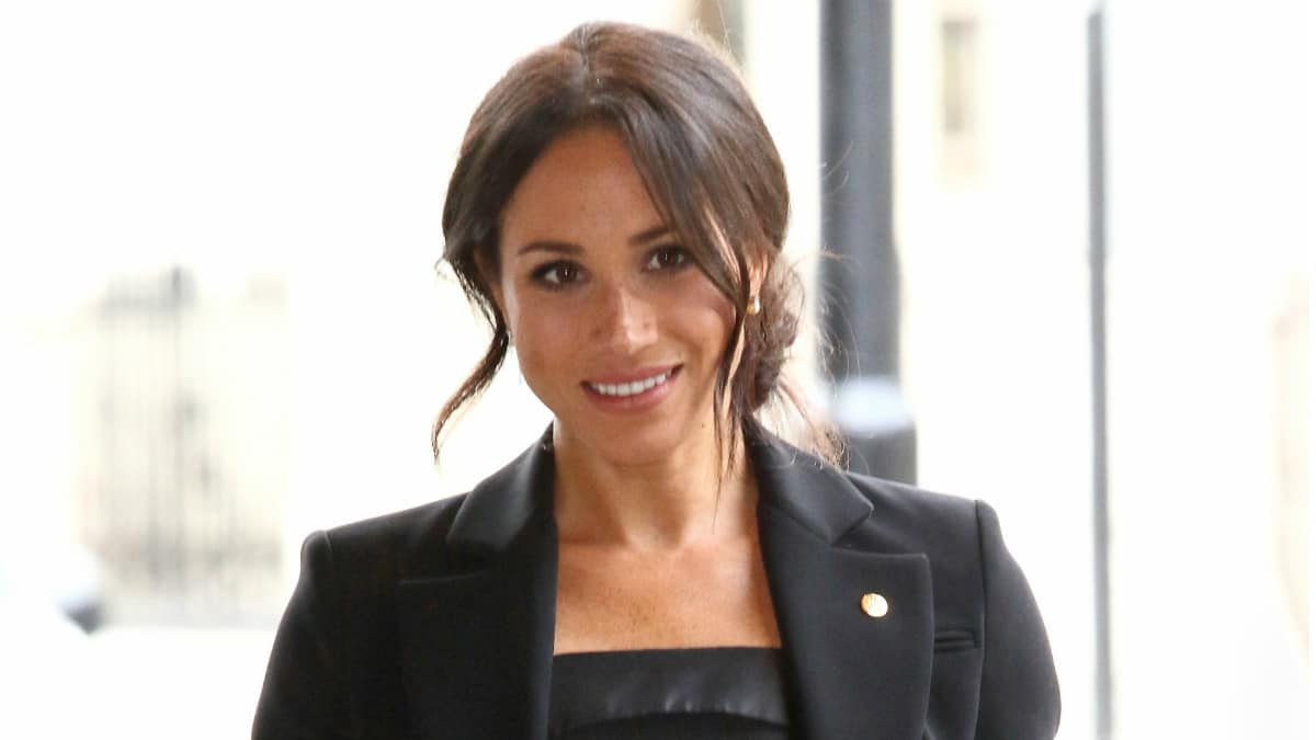 Meghan (Meghan Markle), Duchess of Sussex at WellChild Awards at the Royal Lancaster Hotel.