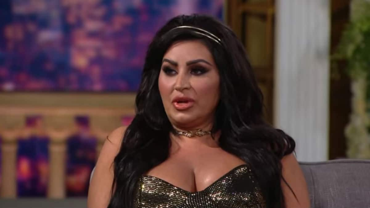Mercedes Javid at the Shahs of Sunset reunion