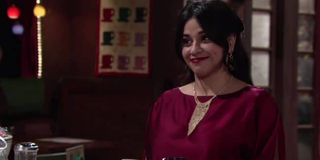 Noemi Gonzales as Mia Rosales on Young and the Restless