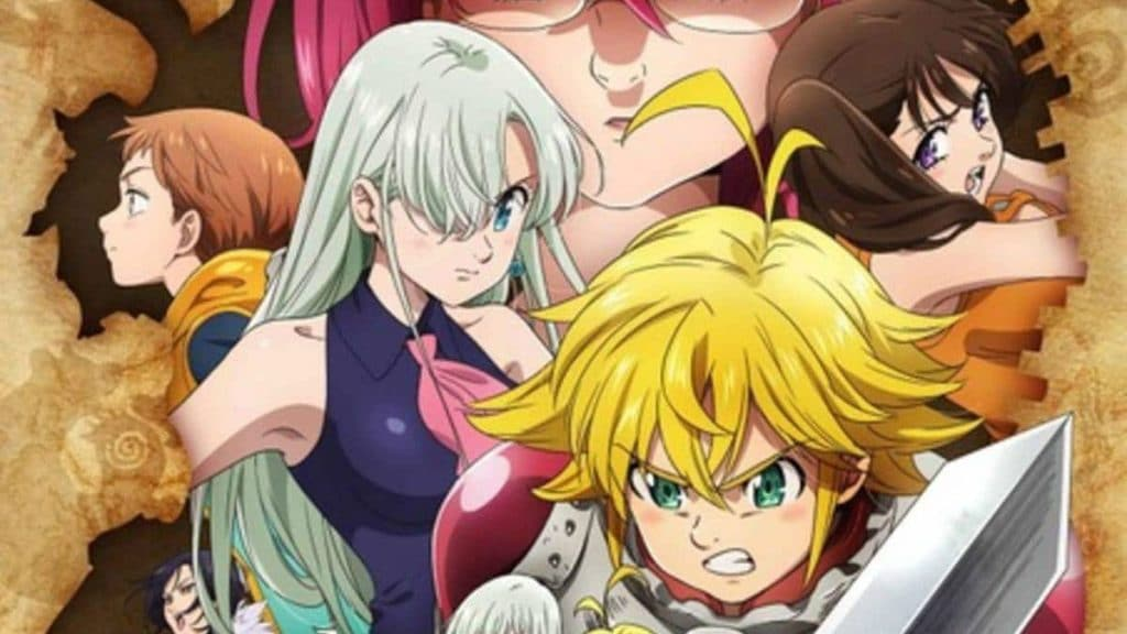 Complation artwork from Nanatsu no Taizai