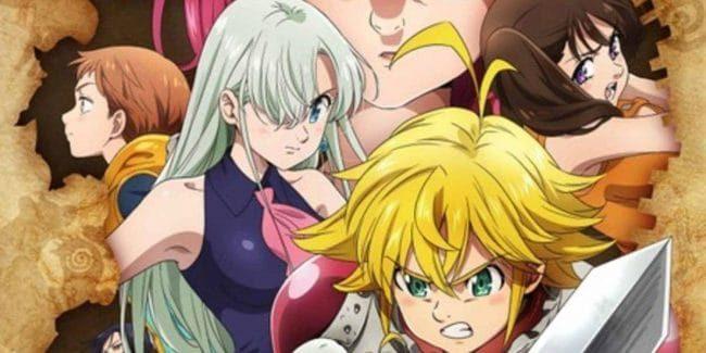 Nanatsu no Taizai Season 3 Studio DEEN Nanatsu no Taizai Kamigami no Gekirin The Seven Deadly Sins Wrath of the Gods release date fall 2019