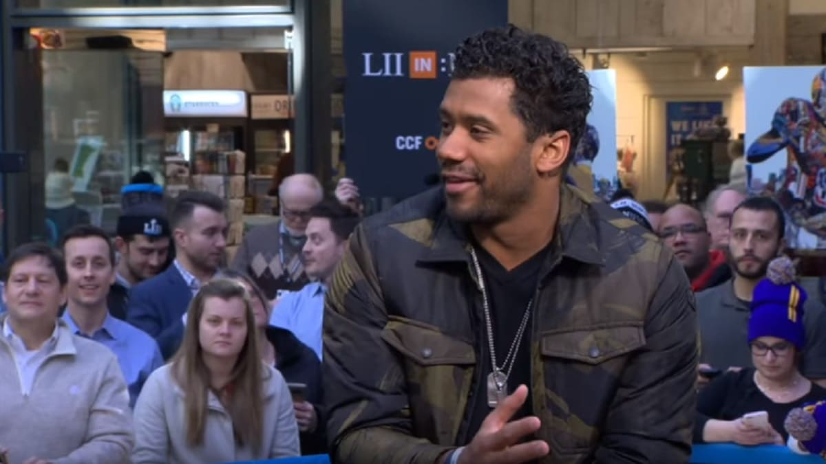 Russell Wilson talks about winning Super Bowl for Seattle Seahawks