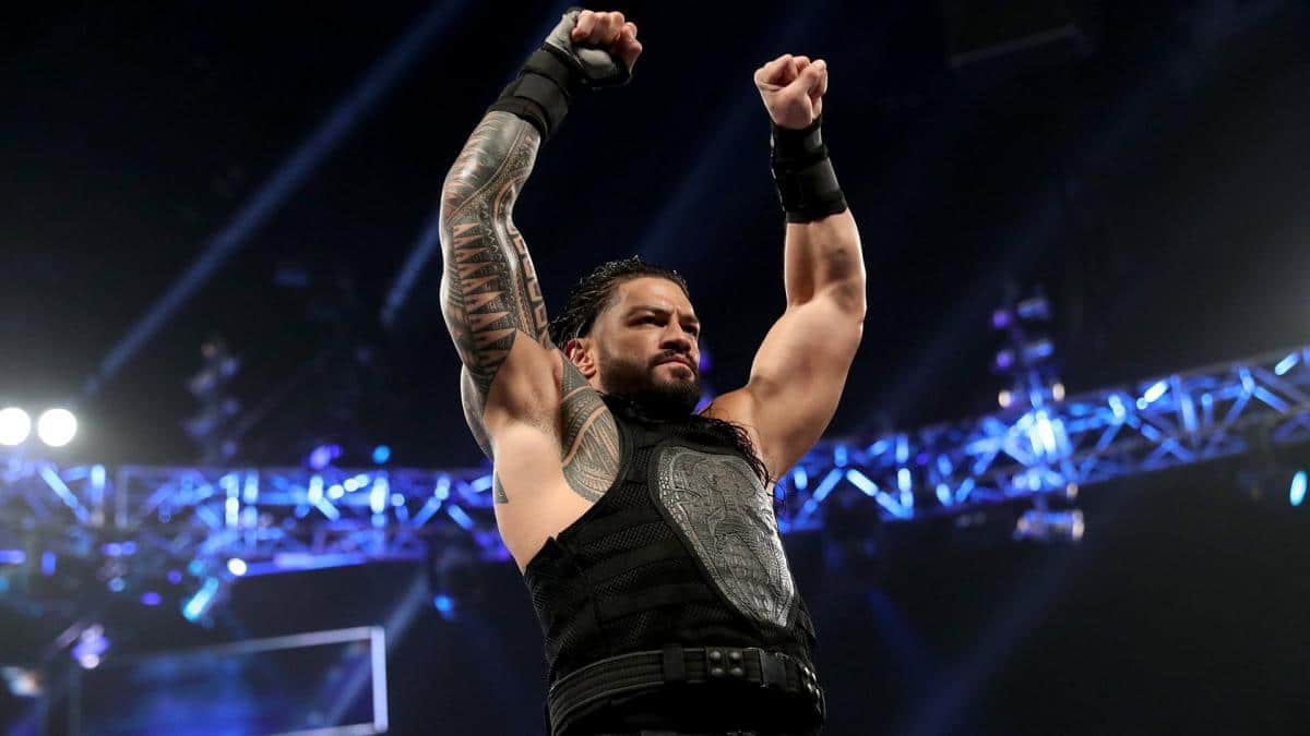 Roman Reigns in the WWE ring