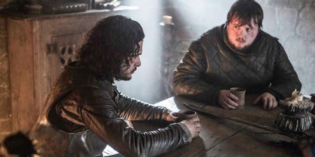 Samwell Tarly and Aegon Targaryen
