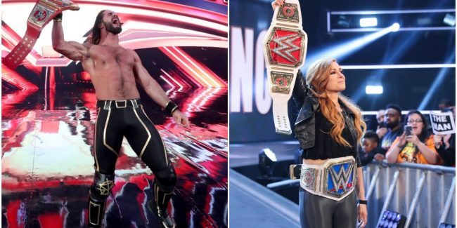 WWE champions Seth Rollins and Becky Lynch appear to be dating and the Internet loves it