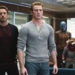 Steve Rogers, Tony Stark, Rocket in Avengers: Endgame