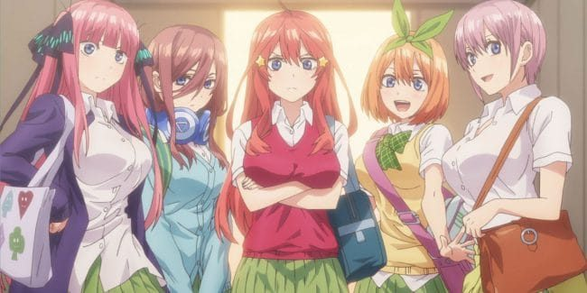 The Quintessential Quintuplets Season 2 release date Gotoubun no Hanayome manga compared to the 5toubun anime Spoilers