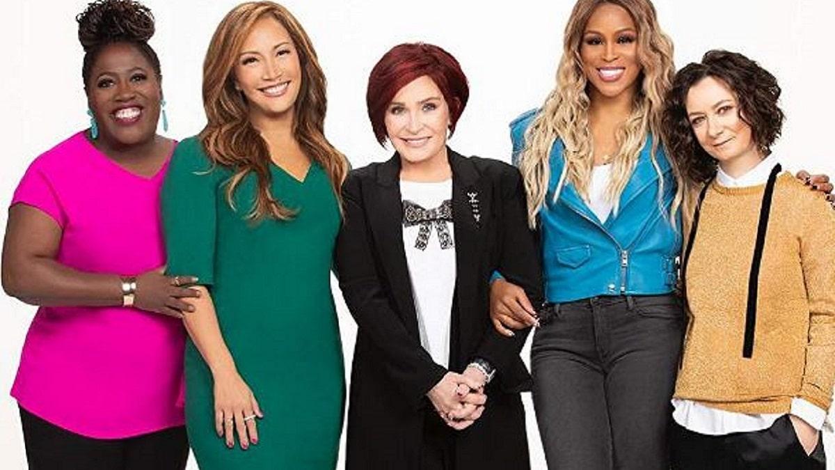 The Talk: Sara Gilbert, Carrie Ann Inaba, Sharon Osbourne, Sheryl Underwood, and Eve