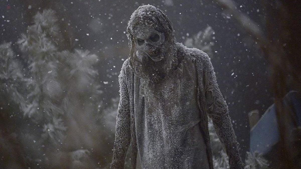 A walker in The Walking Dead