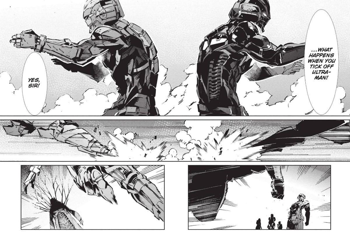 Ultraman Manga Shin Shinjiro Father Son