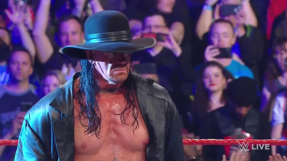 Undertaker makes his return to Monday Night Raw: Why was he not at WrestleMania 35?