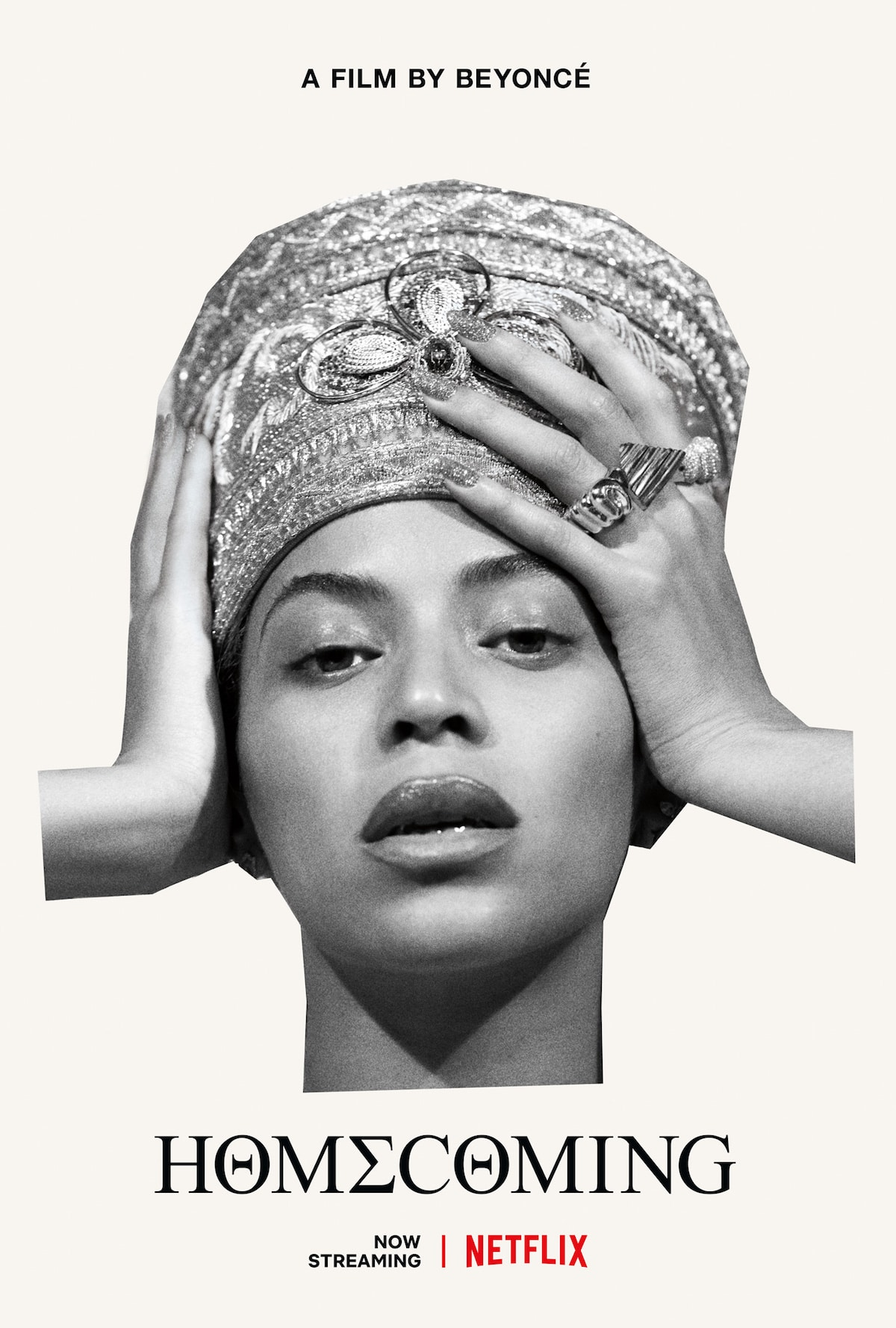 The full cover for Beyonce's Homecoming documentary