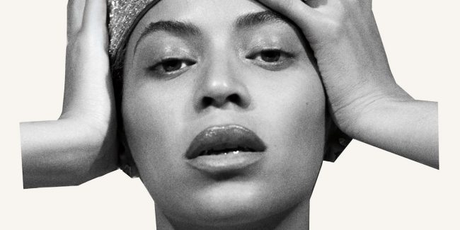 Beyonce Homecoming album cover, which was previously the B7 tracklist page