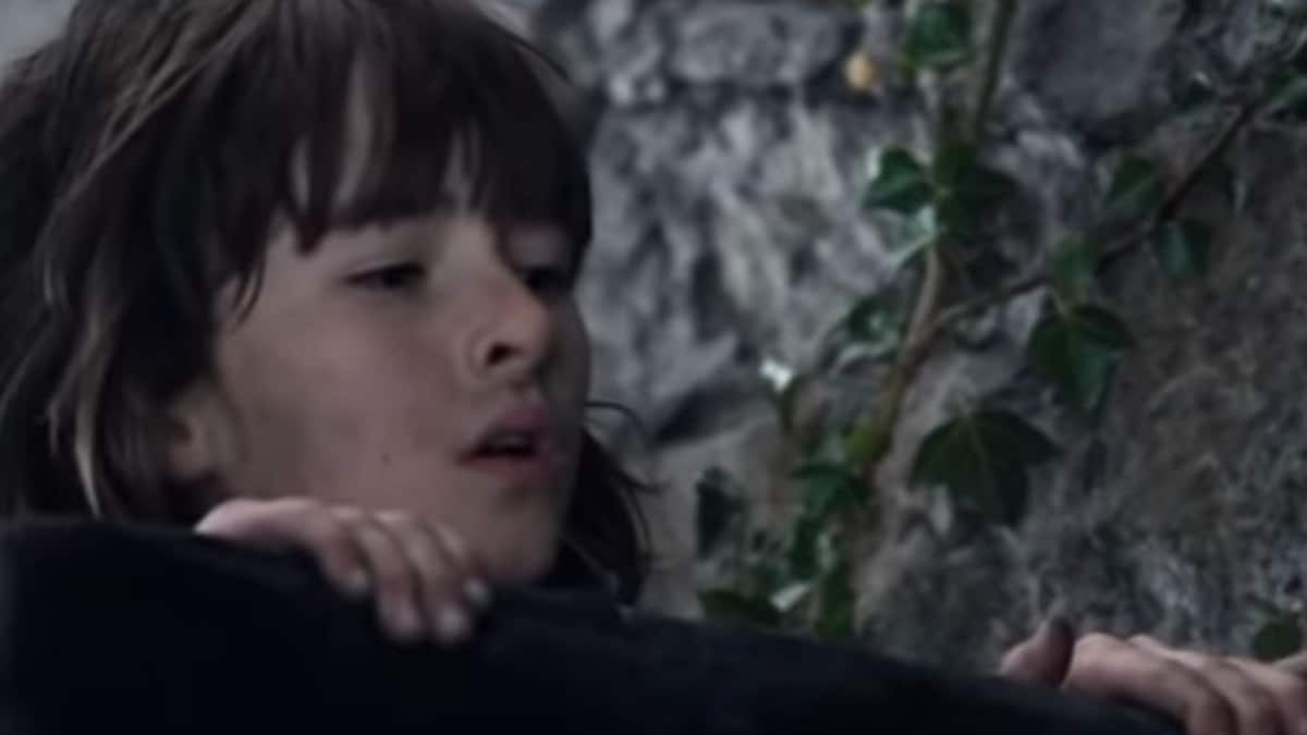 Bran Stark spies on Jaime and Cersei Lannister mid-coitus.