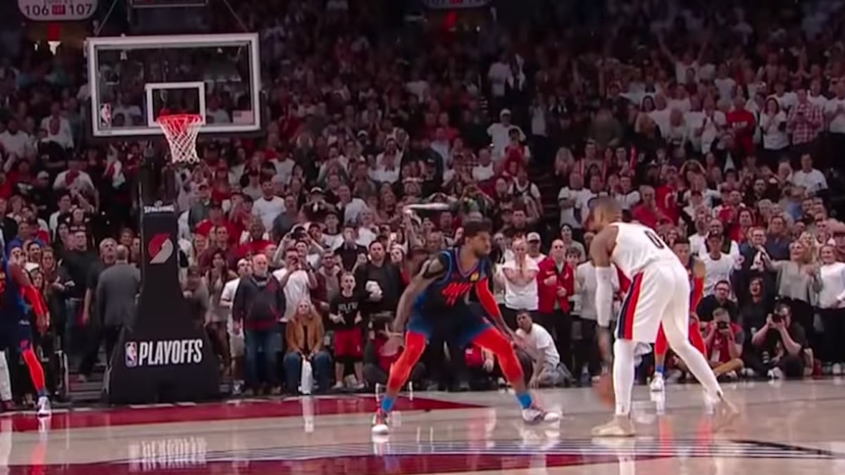 damian lillard hits game winner for trail blazers